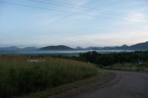 The Old Mutare Valley at dawn. Most of my hiking takes place in this beautiful valley!